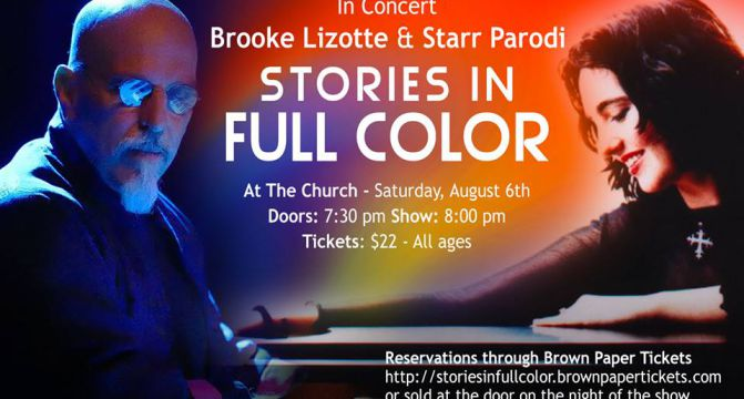 Starr Parodi & Brooke Lizotte In Concert – Seattle