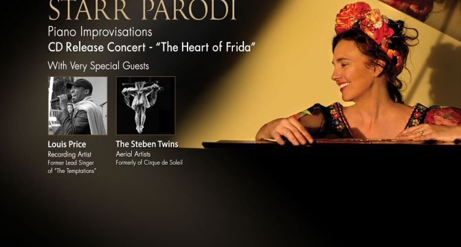 The Heart Of Frida – CD Release Concert – 8pm, Saturday October 1, 2016 The Moss Theater, Santa Monica